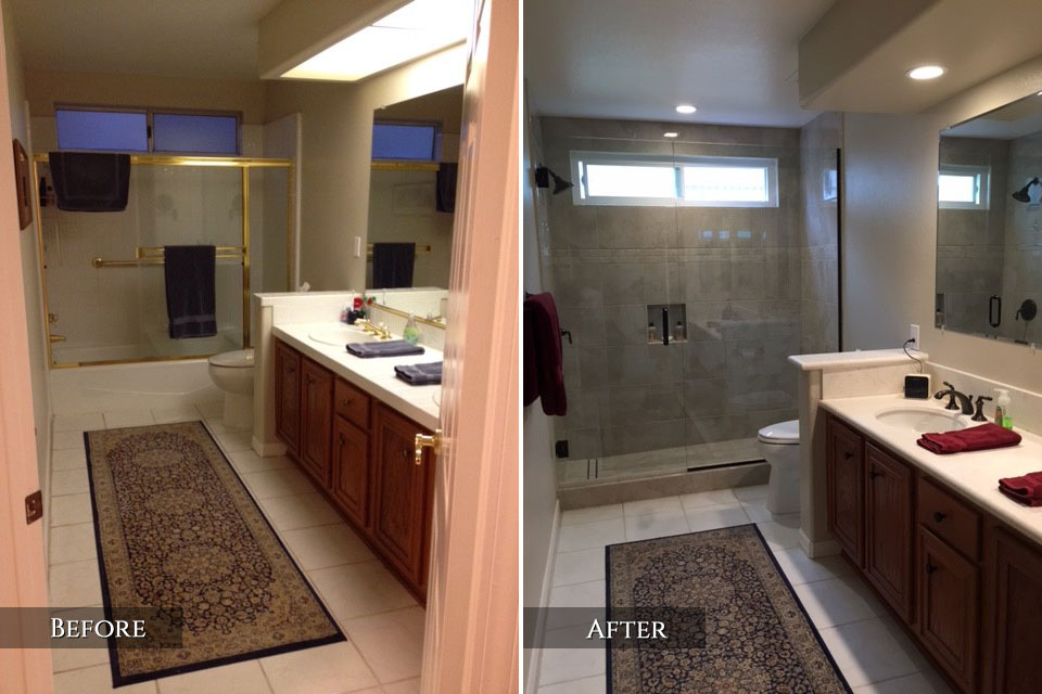 Bathroom remodel gallery with bathroom shower tile ideas also general