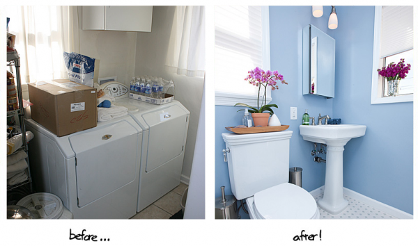 Rate These Bathroom Transformations One Week Bath - Bathroom transformations
