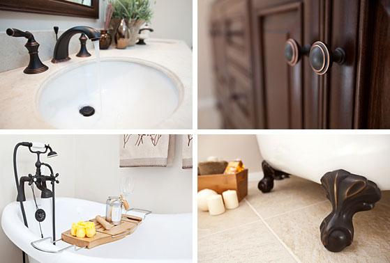 Quality bathroom products - faucet, clawfoot tub, furniture