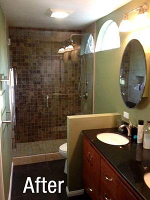 Bathroom Remodel Spotlight Richard Brunette