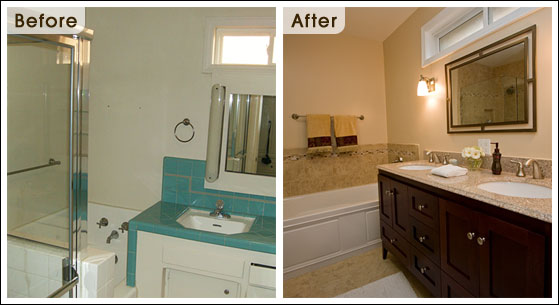 Bathroom Remodel Spotlight The Moreta Project One Week Bath - Diy bathroom remodel before and after