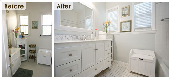 Beautiful Small Bathrooms Before And After Remodel Pictures S In